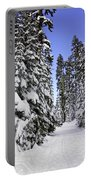 Trail Through Trees Portable Battery Charger