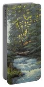 Trail To The Falls Portable Battery Charger