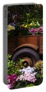 Trailer Full Of Flowers Portable Battery Charger