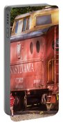 Train - Car - Pennsylvania Northern Region Caboose 477823 Portable Battery Charger