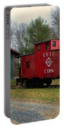 Train - Erie Rr Line Caboose Portable Battery Charger