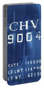 Trains 14 Cyanotype Portable Battery Charger