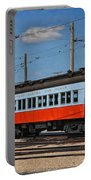 Trains Chicago Aurora Elgin Trolley Car 409 Portable Battery Charger