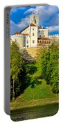 Trakoscan Castle And Green Lake  Portable Battery Charger