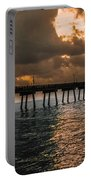 Tranquil Destination Panorama Portable Battery Charger