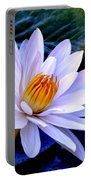 Tranquil Lily Portable Battery Charger
