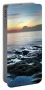 Tranquil Sunrise At Coral Cove Beach Portable Battery Charger