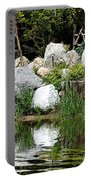 Tranquility In The Japanese Garden Portable Battery Charger