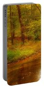Tranquility Stream - Allaire State Park Portable Battery Charger