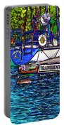 Transients Cartoon Portable Battery Charger by Steve Harrington