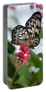 Translucent Butterfly Portable Battery Charger