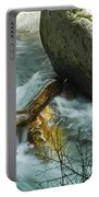 Trapped River Log Portable Battery Charger