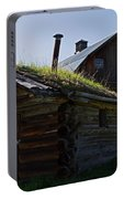 Trappers Cabin Clydesdale Barn Portable Battery Charger