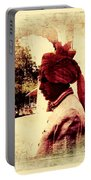 Travel Exotic Headgear Waiter Portrait Mehrangarh Fort India Rajasthan 2a Portable Battery Charger