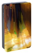 Travel Shopping Colorful Scarves Abstract Series India Rajasthan 1j Portable Battery Charger