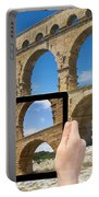 Travel To Pont Du Gard  Portable Battery Charger