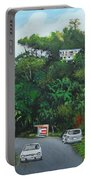 Traveling In Adjuntas Mountains Portable Battery Charger