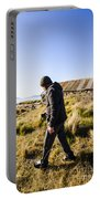 Travelling Man Touring Australia Portable Battery Charger