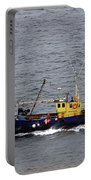 Trawling Off The Dingle Peninsula In Ireland Portable Battery Charger