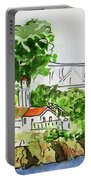 Treasure Island - California Sketchbook Project  Portable Battery Charger