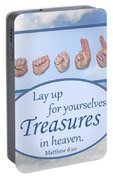 Treasures In Heaven Portable Battery Charger