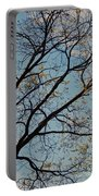 Tree Against The Sky Portable Battery Charger