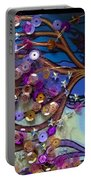 Tree And Face Of Beauty Portable Battery Charger