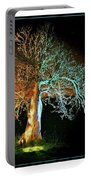 Tree And Moon Portable Battery Charger