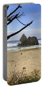 Tree And Ocean Portable Battery Charger