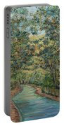 Tree Arched Road Portable Battery Charger
