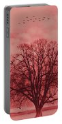 Tree Art 01 Portable Battery Charger