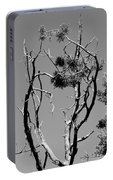 Tree Art Black And White 031015 Portable Battery Charger