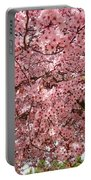 Tree Blossoms Pink Blossoms Art Prints Giclee Flower Landscape Artwork Portable Battery Charger