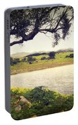 Tree By The Lake Portable Battery Charger