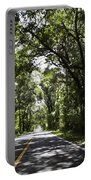 Tree Covered Road Portable Battery Charger