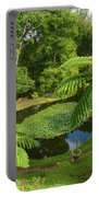 Tree Ferns Portable Battery Charger