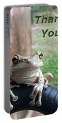 Tree Frog Thank You Portable Battery Charger
