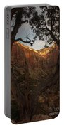 Tree Heart Portable Battery Charger
