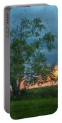 Tree Impression Portable Battery Charger