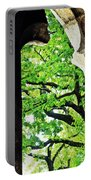 Tree In A Medieval Frame Portable Battery Charger
