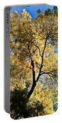 Tree In Fall Portable Battery Charger