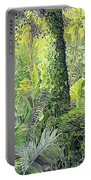 Tree In Garden Portable Battery Charger