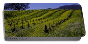 Tree  In Vineyards Portable Battery Charger