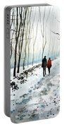 Tree Lined Stroll Portable Battery Charger