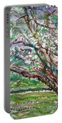 Tree, Loom Of Light And Life Portable Battery Charger