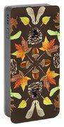 Tree Mandala 1 - Watercolor Portable Battery Charger