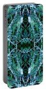 Tree Moss Mandala Portable Battery Charger