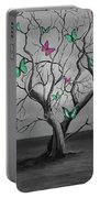 Tree Of Butterflies  Portable Battery Charger