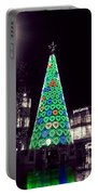 Tree Of Hearts In Green 2 Portable Battery Charger