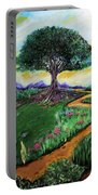 Tree Of Imagination Portable Battery Charger
